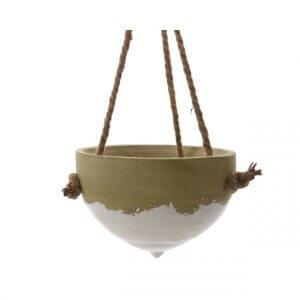 Storyplanter plantenhanger Decoris gradient aardewerken pot