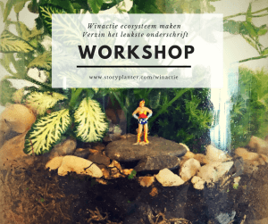 winactie storyplanter workshop ecosysteem maken